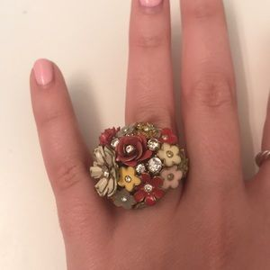 Juicy Couture Floral Ring